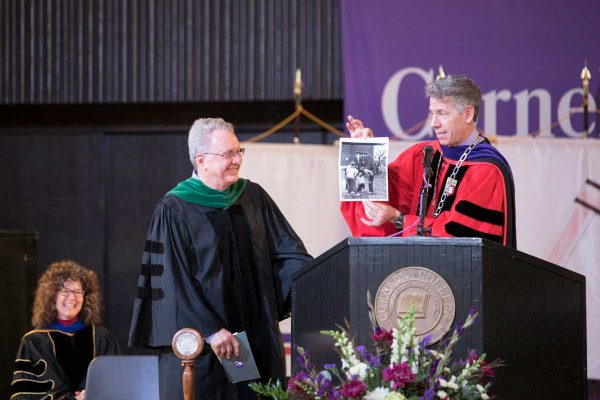 Cornell is proud to acknowledge the outstanding accomplishments of Richard Kraig '71 by awarding him the Distinguished Achievement Award.