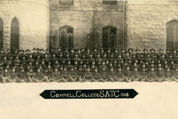 With the COVID-19 pandemic, the Cornell College campus is devoid of students. Yet classes go on—just as they have continuously since 1853.