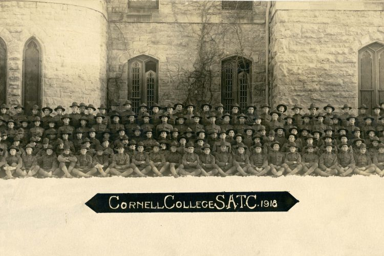 1918-Student Army Training Corps at King Chapel
