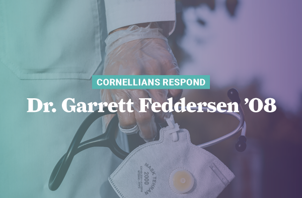 As director of emergency services for Buena Vista Regional Medical Center, Dr. Garrett Fedderson '08 implemented many changes as COVID-19 was discovered.