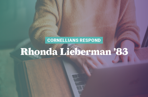 As the COVID-19 pandemic became a reality, Rhonda Lieberman '83 was determined to find a way all 65 of her essential staff could work from home.