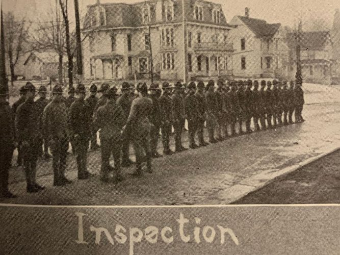 SATC inspection in 1918