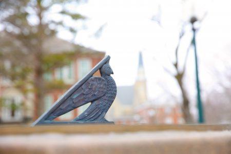 campus image of sundial