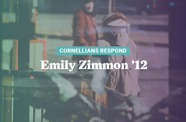 Emily Zimmon '12 is the support services director at Willis Dady Homeless Services where COVID-19 is creating scary realities.