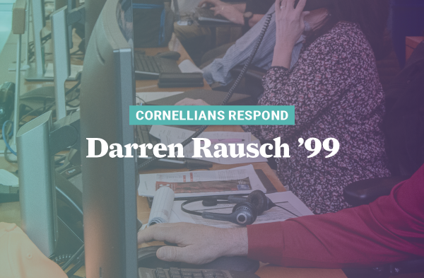 Darren Rausch '99 has been preparing for an outbreak like COVID-19 since he first began his career in public health 19 years ago.