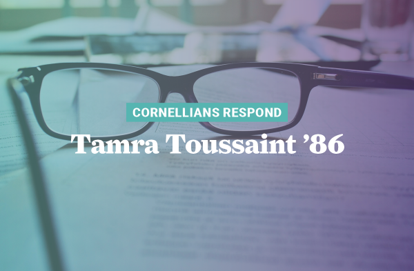 Tamra Thompson Toussaint's knowledge of legally compliant ways of breaking regulation roadblocks helped Georgia obtain personal protective equipment (PPE) and keep its citizens safe and healthy.