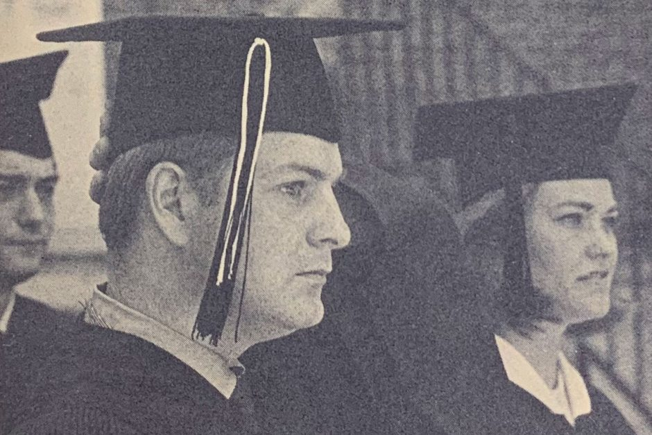 Mark-Abbott 1970 commencement