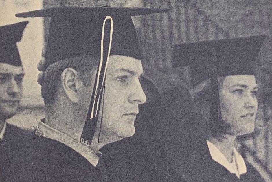 Mark-Abbott 1970 commencement