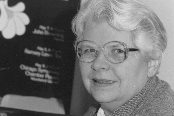 Cornell College Professor Emerita of Sociology Charlotte Vaughan died Sept. 5, 2020, in Kankakee, Illinois, at age 95.
