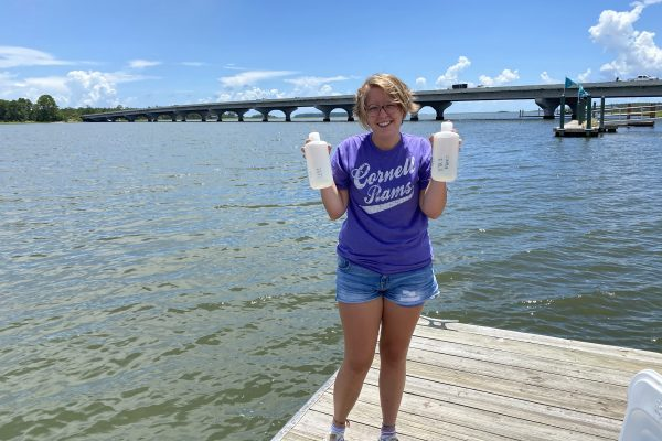 Even though Kat Armstrong's Cornell Fellowship ended when summer break came to a close, she says the internship opportunity is just the beginning of her amazing career adventure.