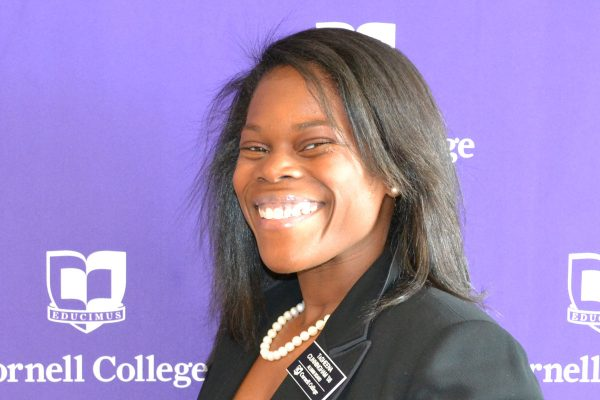 TaSheena Cunningham-Rimmer '06, assistant general counsel to the Chicago Housing Authority, received a 2020 Young Alumna Achievement Award.
