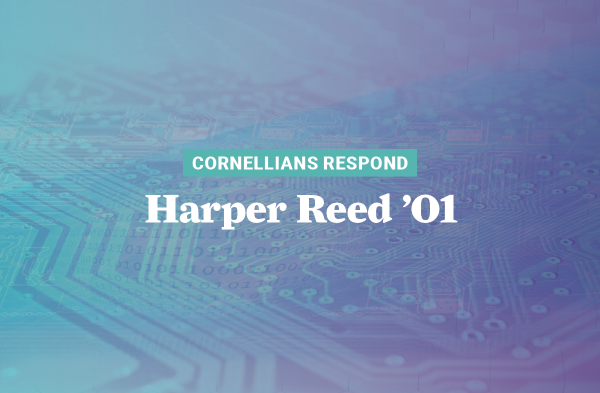 When the pandemic hit, software engineer Harper Reed '01 had to abandon his plan of starting a company and spent the next eight months on COVID-19 response.