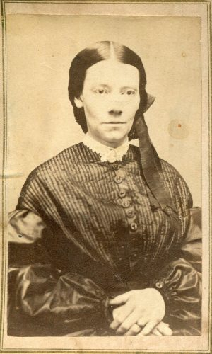 Harriette J. Cooke in 1869, two years before her promotion.