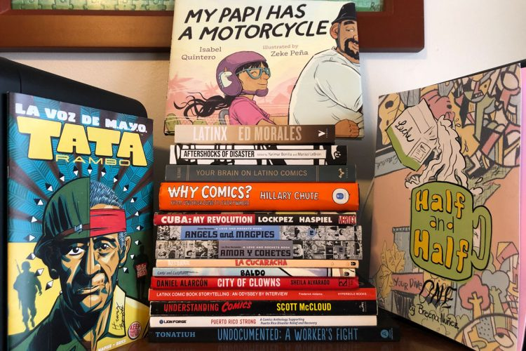 Textbooks for the Decolonizing Comics course.