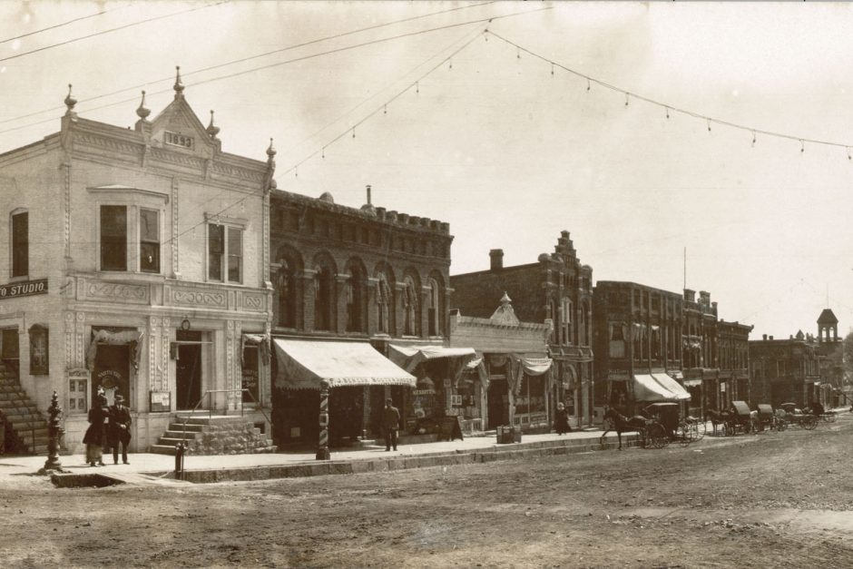 Uptown Mount Vernon, c1900