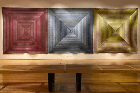 """""""totis viribus"""" filled the Peter Paul Luce Gallery in McWethy Hall"""
