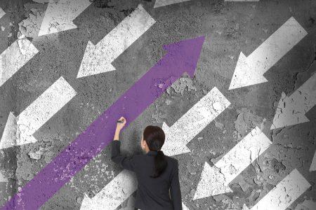 Lanes--arrows- graphic