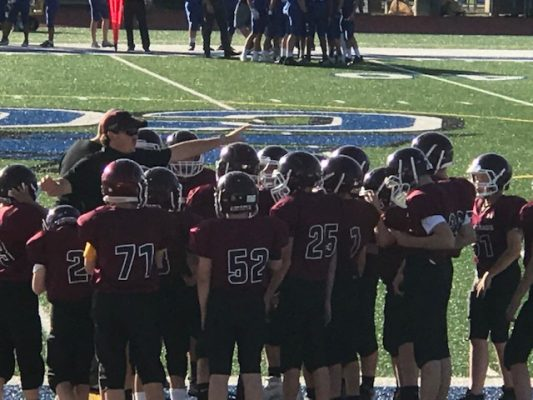 Chris Chapman may have finished his football career at Cornell College, but he's continuing to share his love and knowledge of the sport with the next generation.